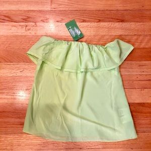 Lilly Pulitzer Wiley Tube Top- green